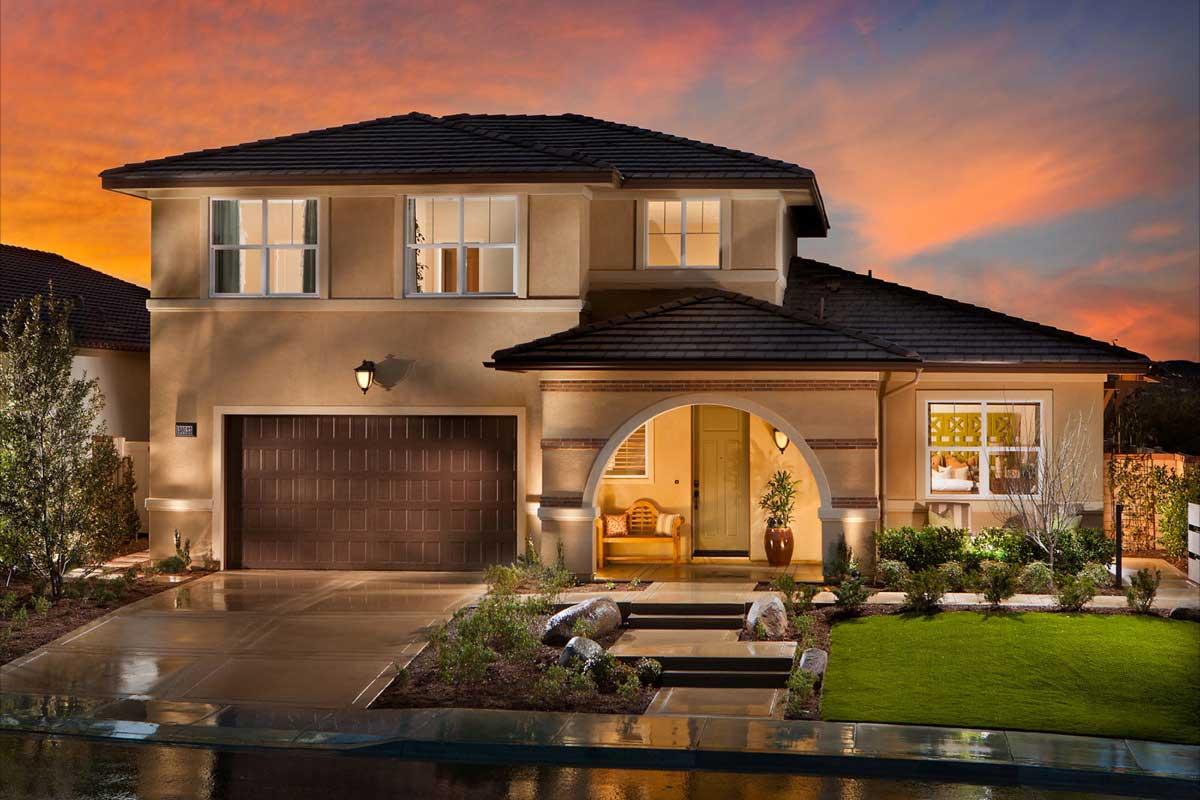Casa cu arhitectura clasica