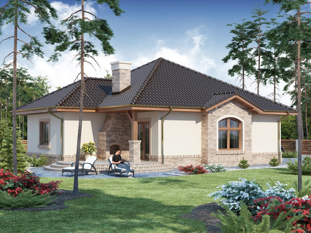 Casa cu arhitectura frumoasa