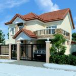 Casa cu etaj si balcon