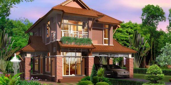 Casa cu etaj si gradina mare