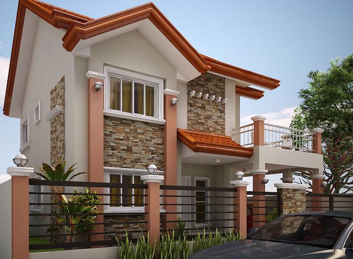 Casa cu etaj si pod