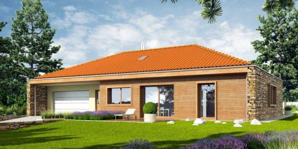 Casa cu garaj dublu si terasa