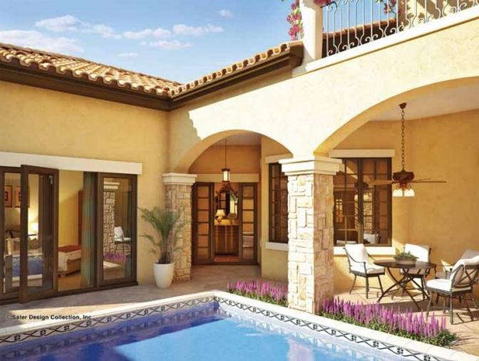 Casa cu terase in stil mediteranean for Case cu terase