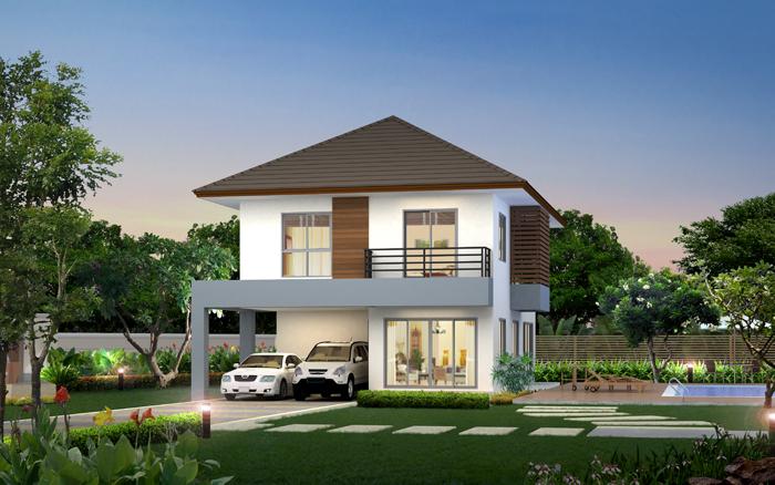 Casa frumoasa cu etaj