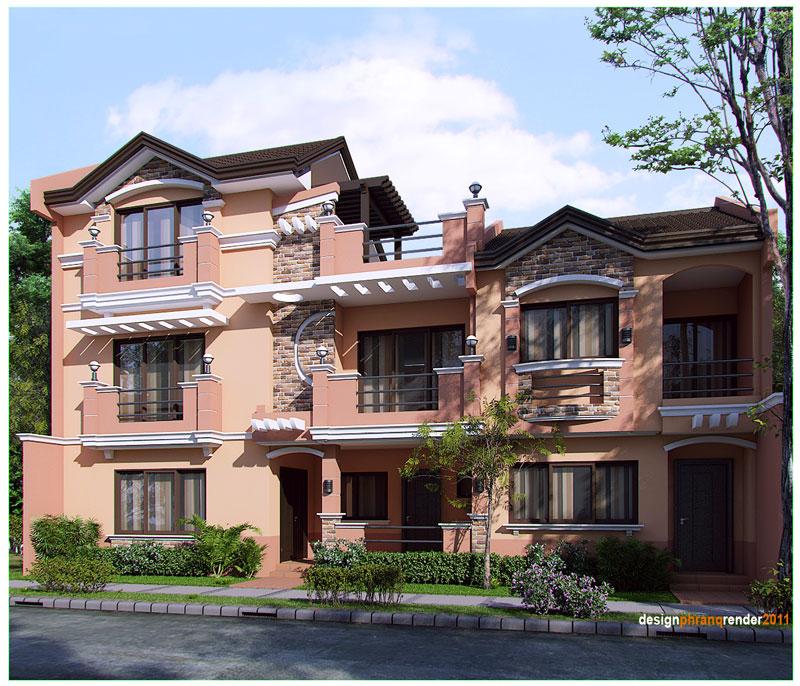 Casa mare cu doua etaje