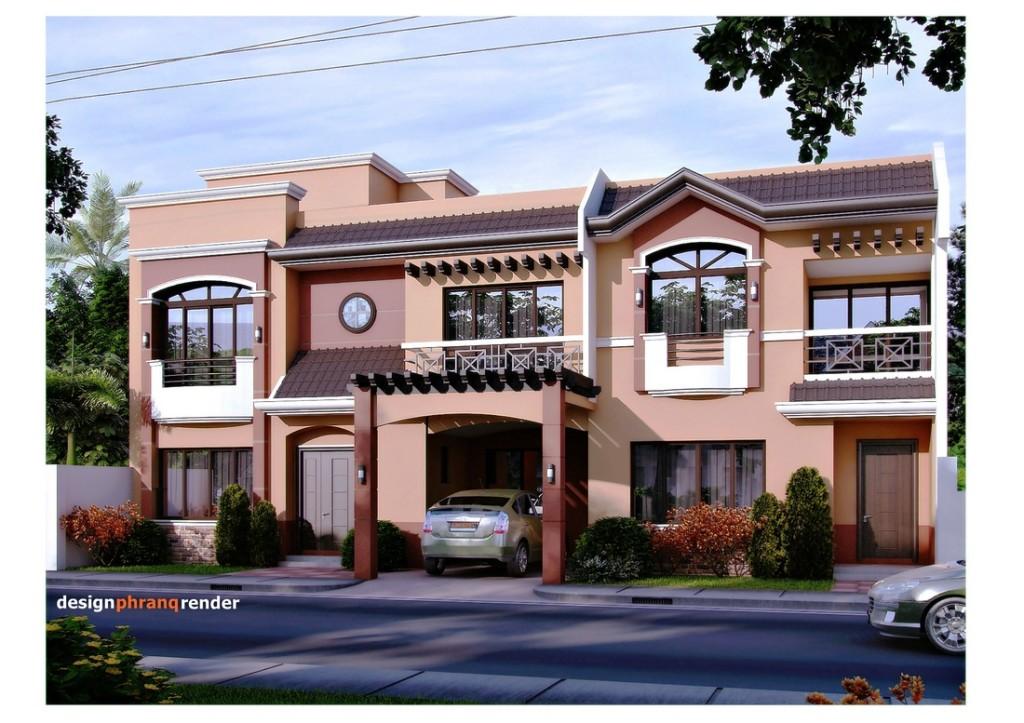 Casa moderna cu etaj si garaj