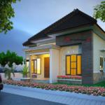 Casa moderna fara garaj