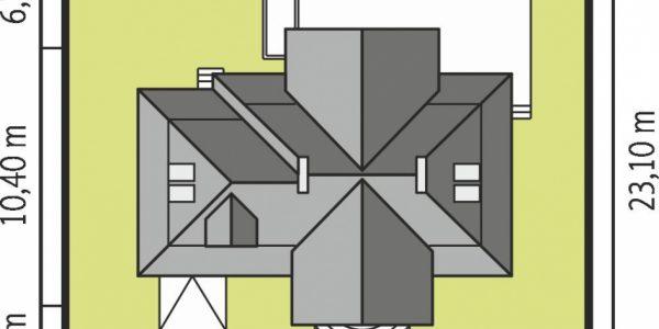 Dimensiune teren casa cu 2 lucarne