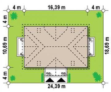 Dimensiune teren duplex cu mansarda
