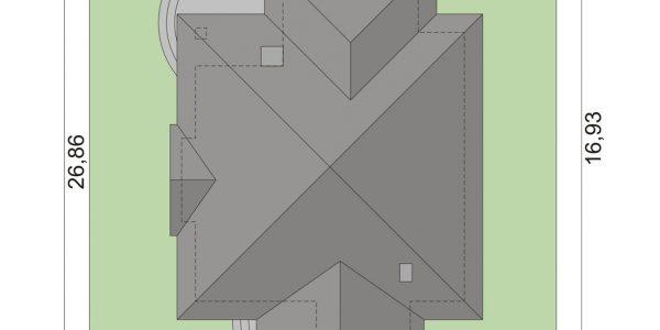 Dimensiuni teren casa eleganta cu garaj