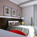 Dormitor cu tavan fals