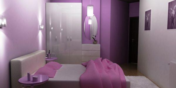 Dormitor in doua culori