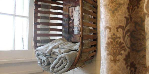 Mobilier rustic baie