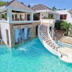 Vila de lux cu piscina si cascada