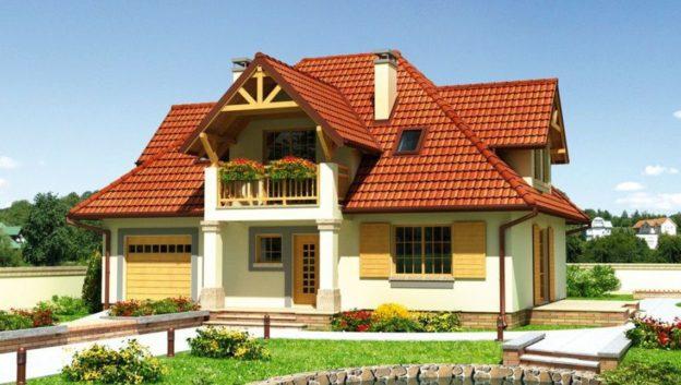 Casa cu mansarda
