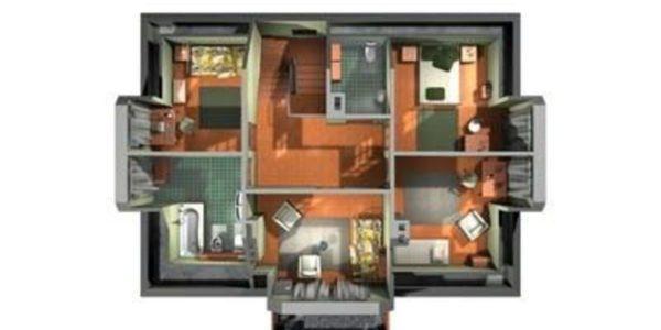 Compartimentare etaj casa