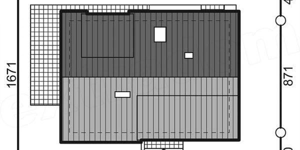 Amprenta la sol casa cu 4 dormitoare