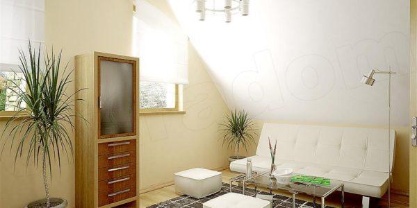 Canapea extensibila in dormitor