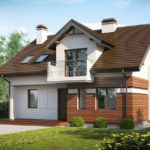 Casa cu 3 balcoane