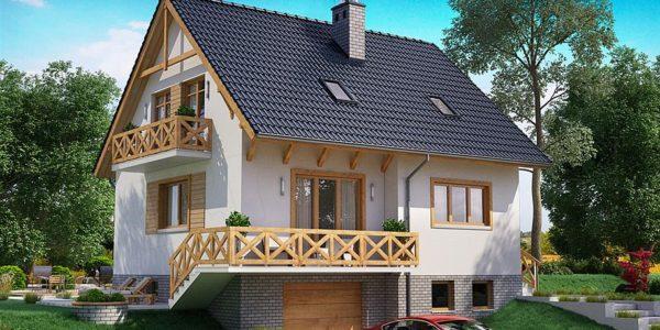 Casa cu 3 niveluri