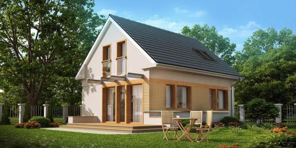 Casa mica cu 4 dormitoare