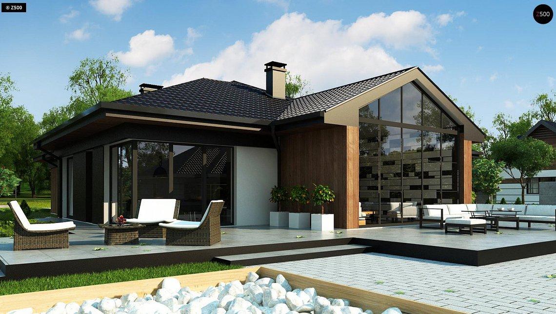 Casa moderna cu 4 dormitoare