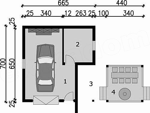 Dimensiuni garaj