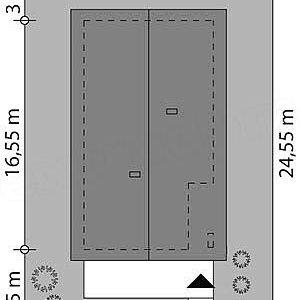 Dimensiuni parcela teren casa fara etaj