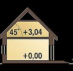 Plan vertical casa mica