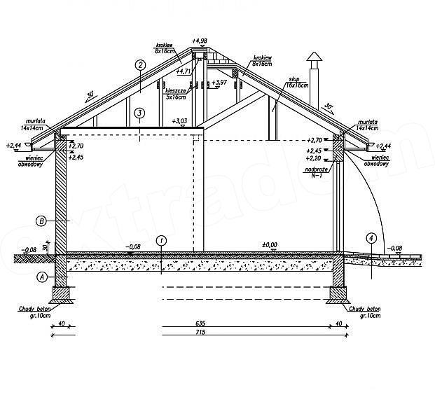 Plan vertical garaj
