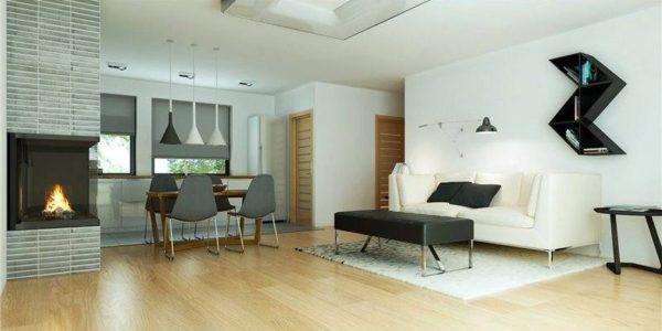 Amenajare moderna casa mica
