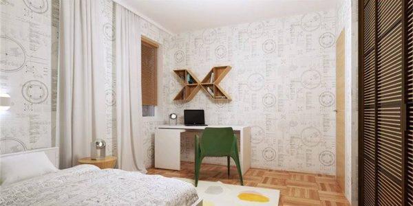 Amenajare moderna dormitor mic