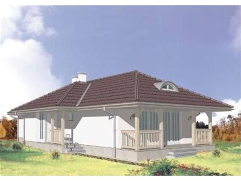 Casa P+M cu veranda