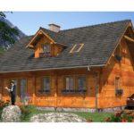 Casa P+M din lemn