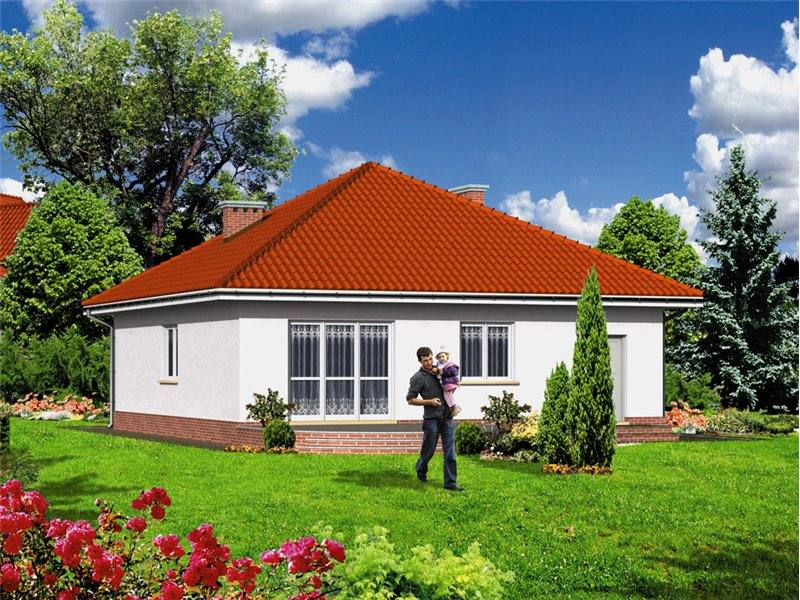 Casa cu 3 camere si garaj