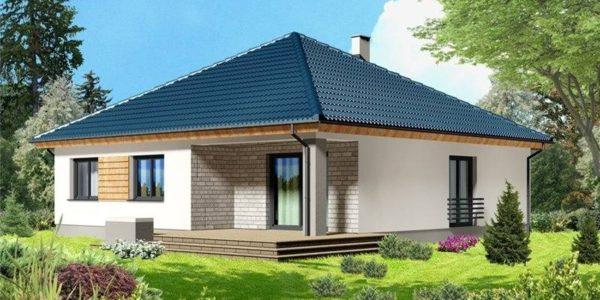 Casa cu 4 camere si terasa acoperita