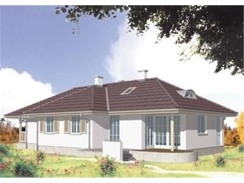 Casa cu 4 camere si veranda