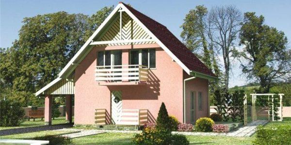 Casa cu P+M cu 4 camere