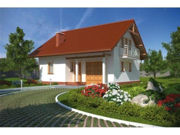 Casa cu mansarda si 4 camere