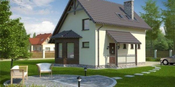 Casa familiala mica cu mansarda