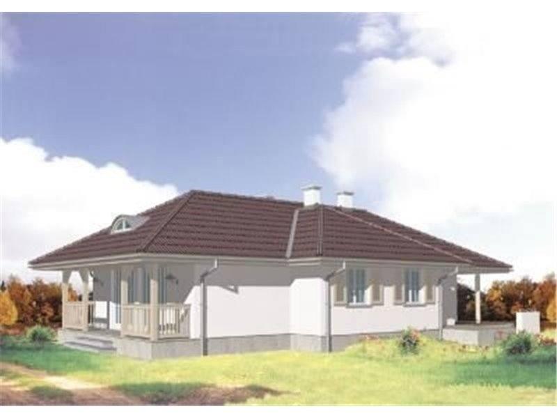 Casa frumoasa cu veranda