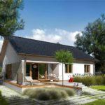 Casa ieftina cu terasa
