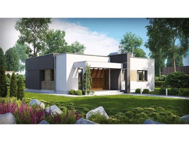 Casa moderna cu 3 camere