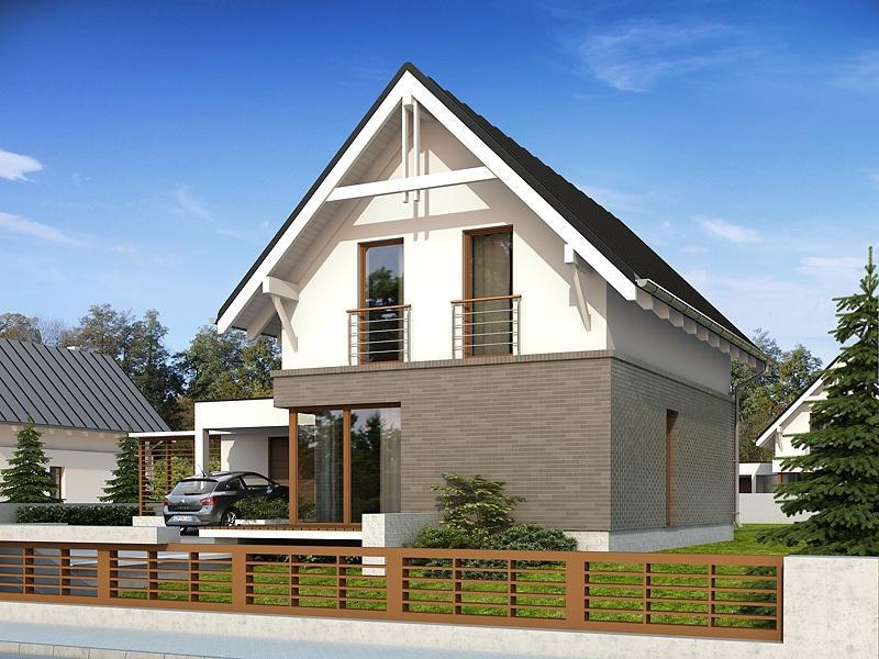 Casa moderna cu 4 camere si garaj