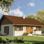 Casa parter cu arhitectura clasica