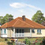 Casa parter cu veranda