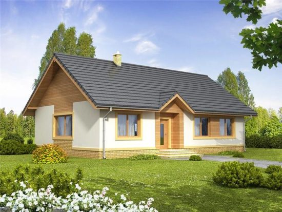 Casa parter eleganta cu 3 dormitoare
