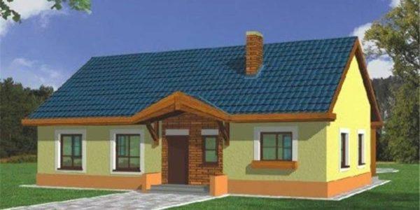 Casa simpla cu 4 camere
