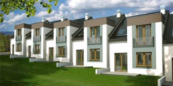 Complex de case cu mansardaComplex de case cu mansarda