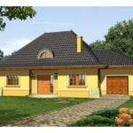 Casa frumoasa cu mansarda si garaj